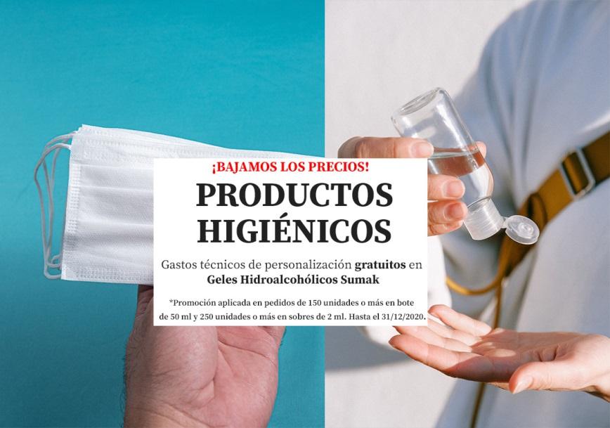 Productos Higiénicos popup