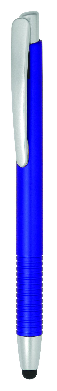 Bolígrafo con puntero Verso Stylus Color azul marino y plateado
