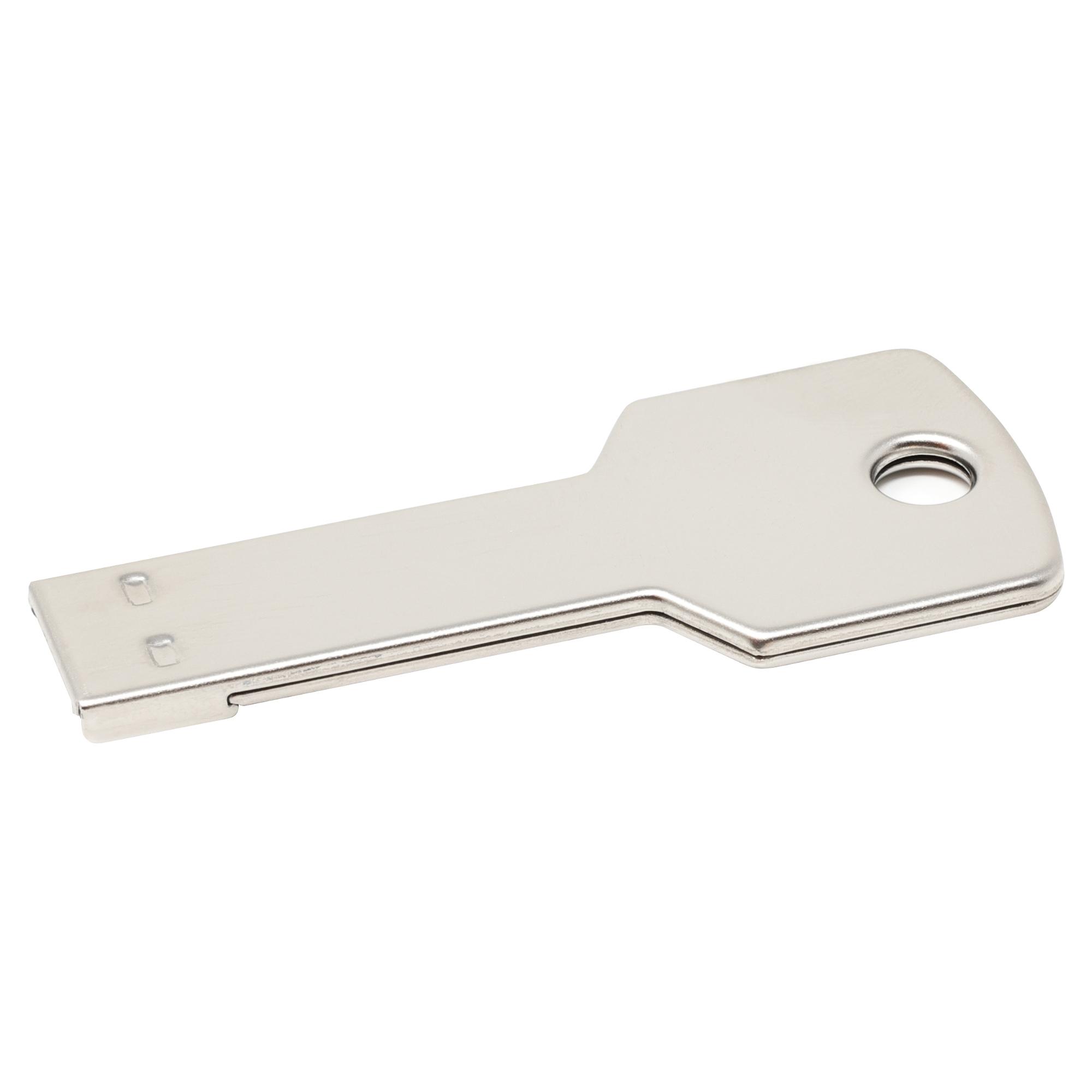 Memoria USB Key Color plateado capacidad 16 GB