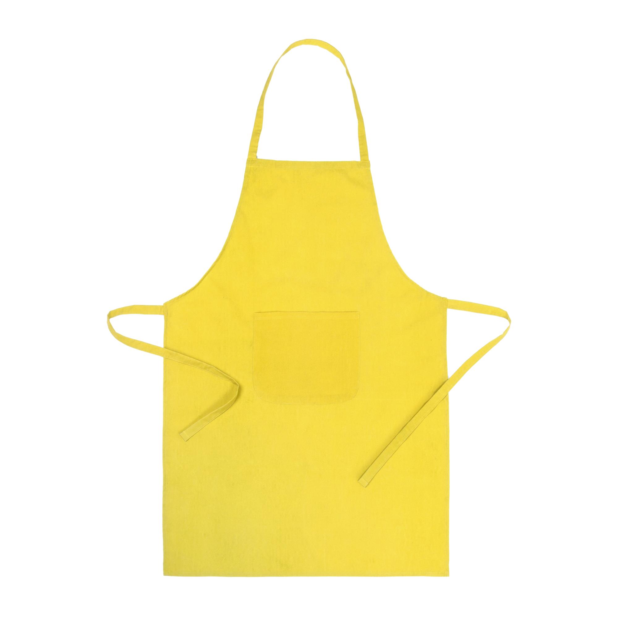 Delantal Gemin Color amarillo