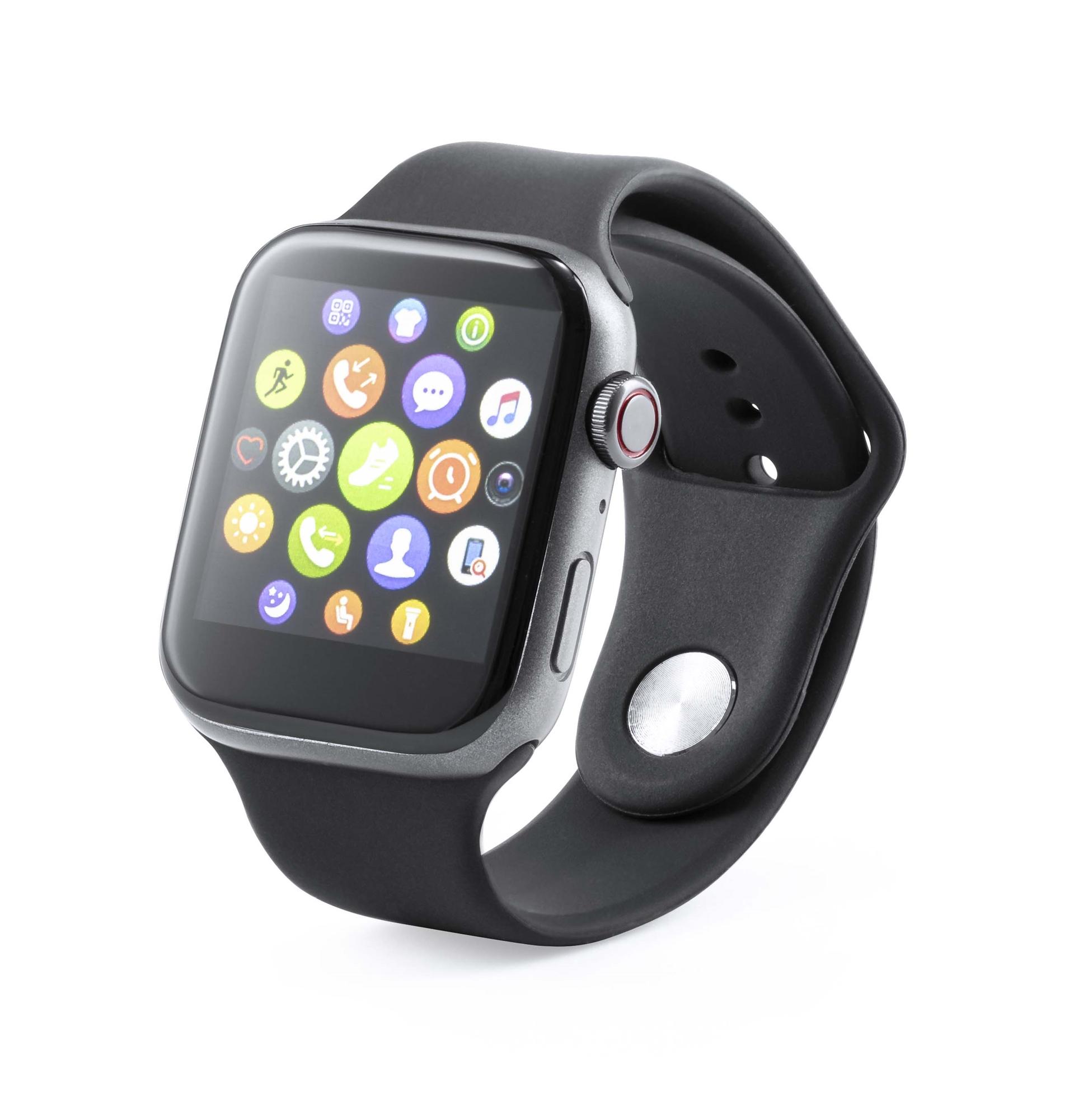 Reloj inteligente Lenkes Color negro