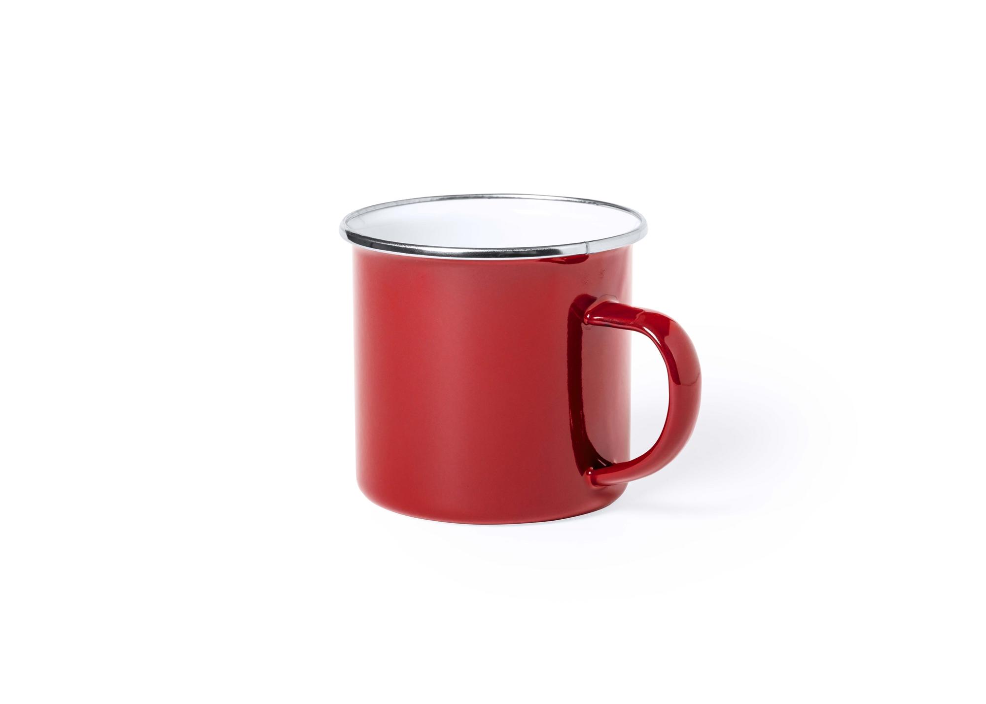 Taza Zeinun Color rojo