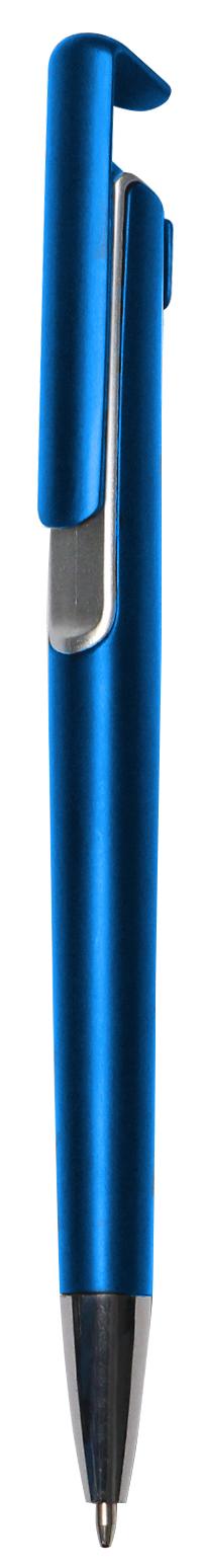 Bolígrafo Iguazu Color azul marino y plateado