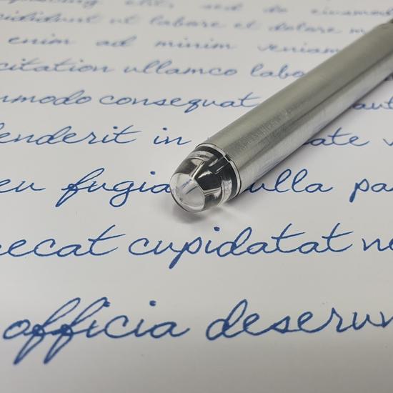 Roller de tinta líquida K1 Color azul marino y plateado