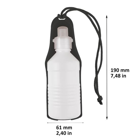 Botella bebedero Baite Color negro