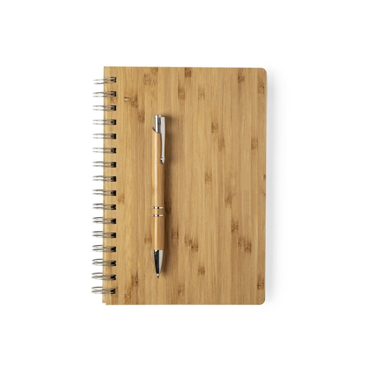 Set libreta y bolígrafo Kineg