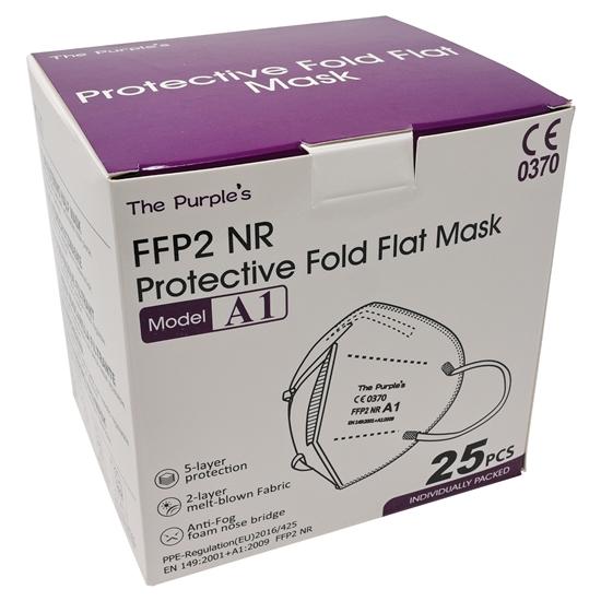 Mascarilla FFP2 Pertion Color blanco