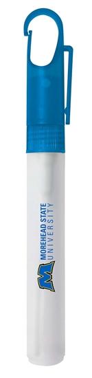 Envase para gel hidroalcohólico Viecom Color azul marino