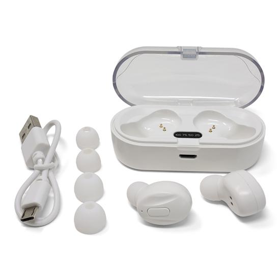 Auriculares inalámbricos Promok Color blanco