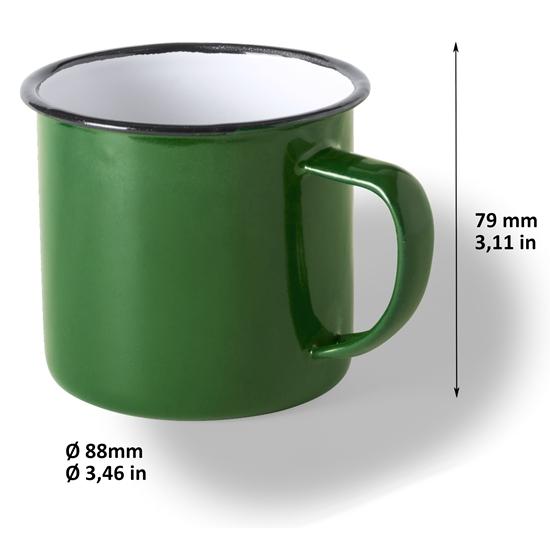 Taza Analok Color verde